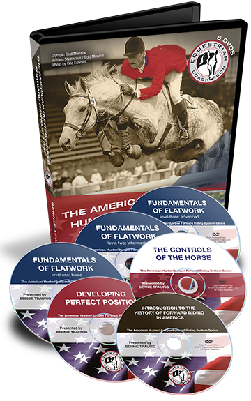 American Hunter/Jumper Forward Riding System DVD Collection