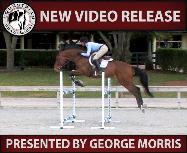 George Morris Schooling Series: McKayla Langmeier Schools a Jumper