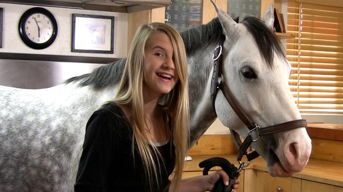 Michaela Traurig's Horse Treat Recipe