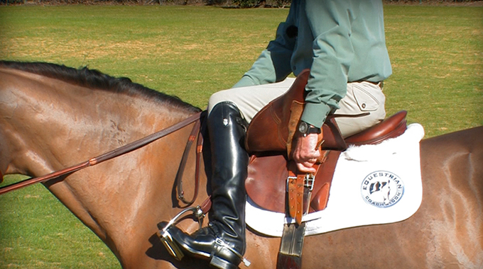 Learn How To Safely Adjust Your Stirrups And Girth While On Your Horse