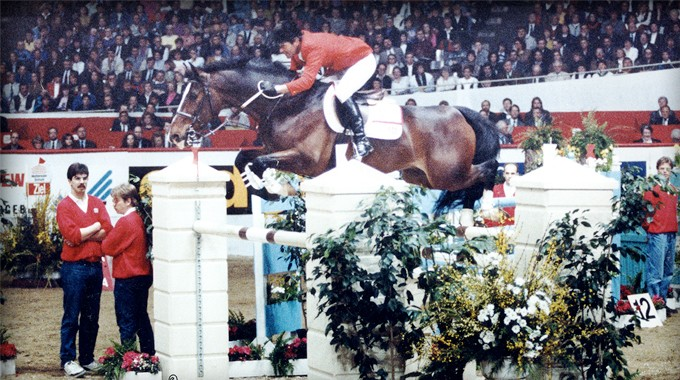 Maybe Forever, Bernie Traurig, Showjumping, World Cup Finals