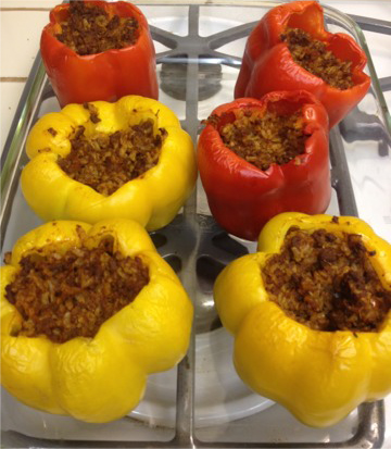 Stuffed Bell Peper Recipe