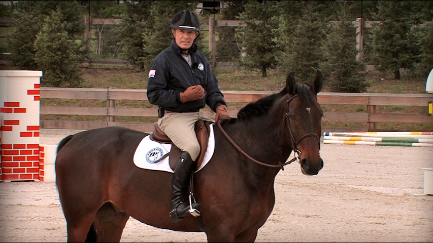 eye exercises to find a distance to a jump on your horse