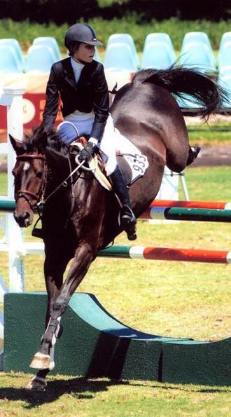 Jumper rider Natasha Traurig