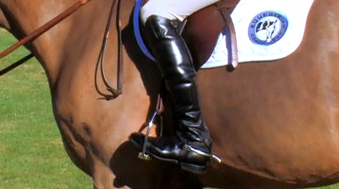 Stirrup And Leg Position