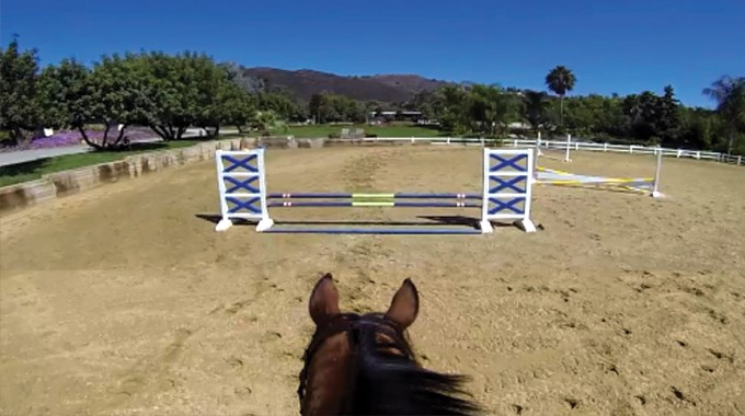 Get Your Horse To Focus On The Jump