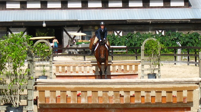 How To Ride Perfect Strides In A Line Of Jumps
