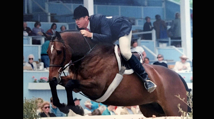 Western Prospect: A Very Expensive Two-Year-Old Racehorse Turned Extraordinary Show Hunter
