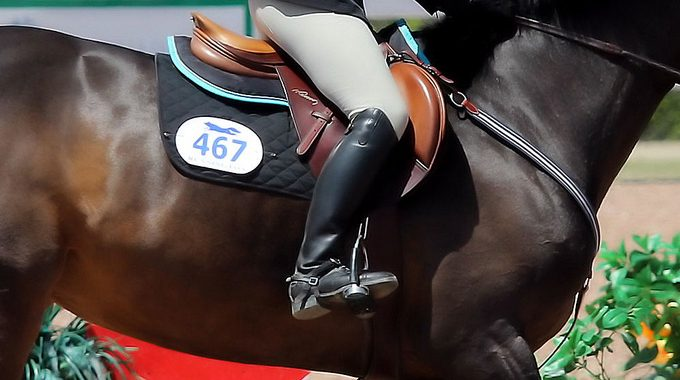 How To Keep Weight In Your Stirrups And Contact With Your Horse's Side