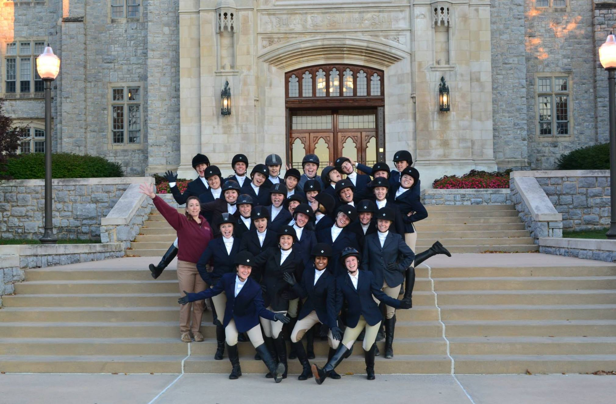 Virginia Tech IHSA Equestrian Team