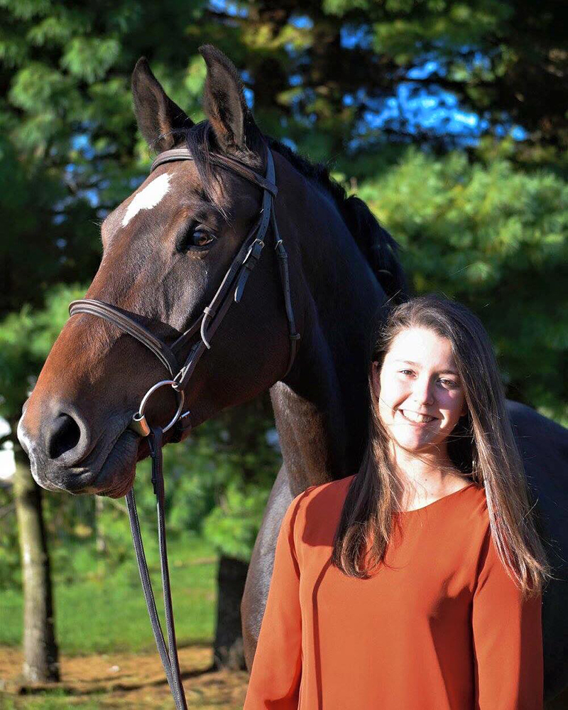 Kayleigh Burke Collegiate Rider