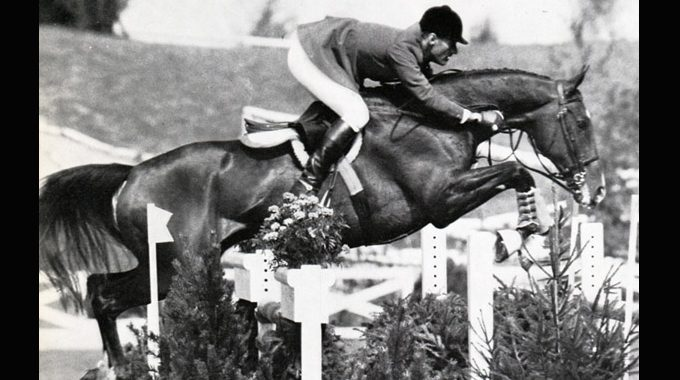 Bill Steinkraus And Snowbound At The 1972 Olympics In Munich