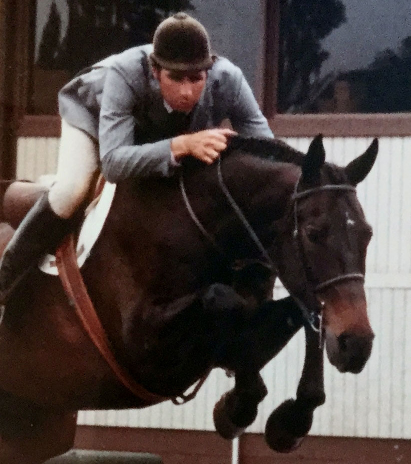 Mind Games with Tommy Serio riding at Commonwealth Park in 1985. c