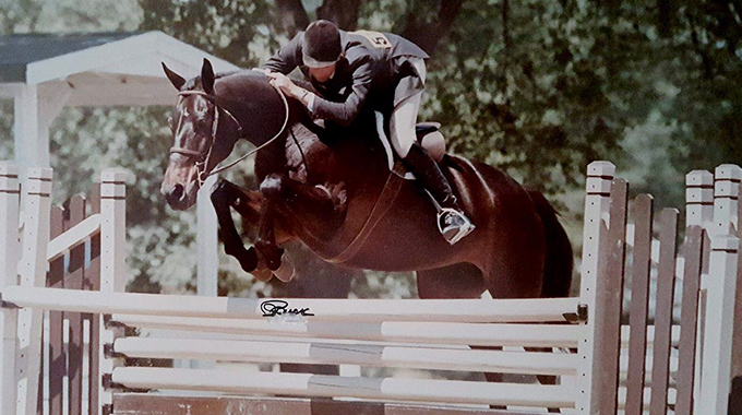 Mind Games: 1985 AHSA Horse Of The Year Working Hunter & 1985 AHSA Reserve HOTY Conformation Hunter