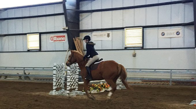 Exercise For Riding Your Horse In An Indoor Arena