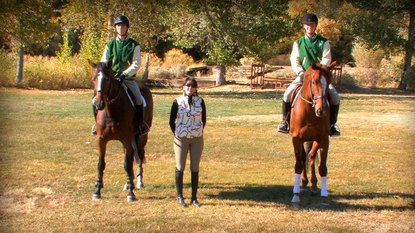 training your horse to respond smoothly to the riders leg and rein aids