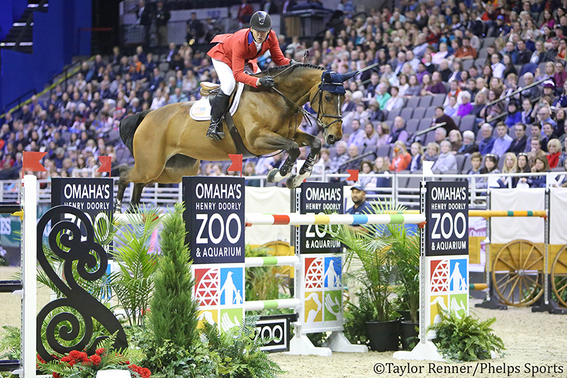 McLain Ward and HH Azur - Chronicle of the Horse